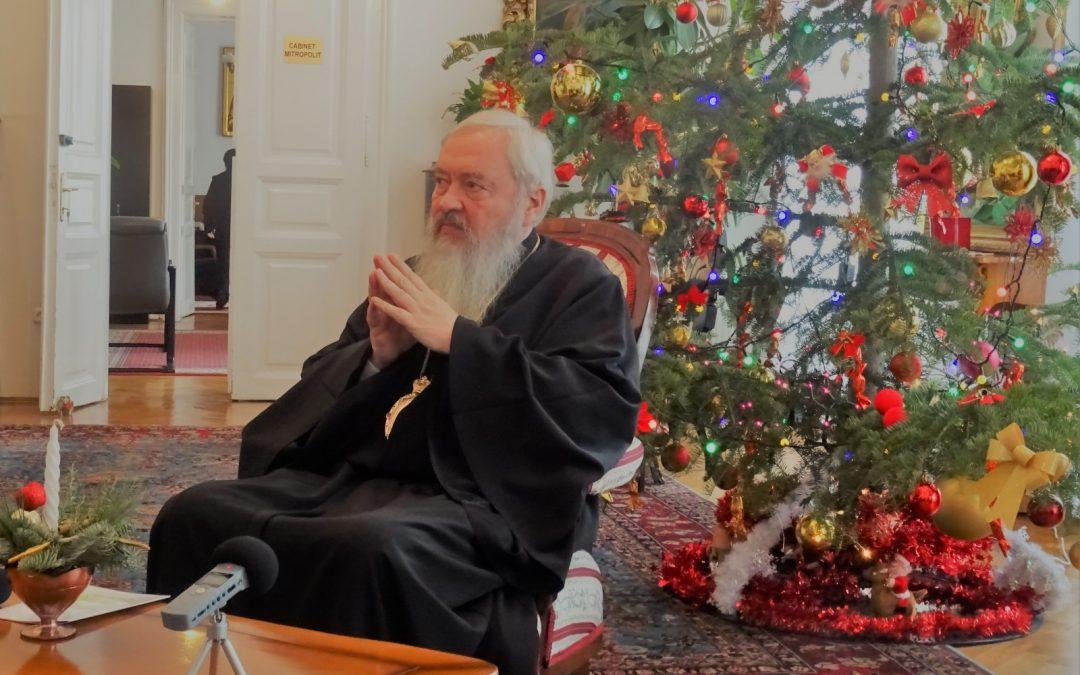 Mitropolitul Clujului, îndemn la  generozitate de sărbătoarea Crăciunului
