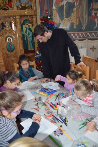 Activităţi cu tinerii şi copiii parohiei Berchieşu