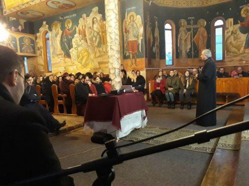 Părintele profesor Stelian Tofană, prezent la Sîngeorz-Băi
