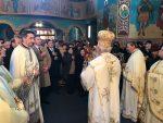 Sfânta liturghie arhierească la Bistrița, în ce de-a doua zi de Crăciun.