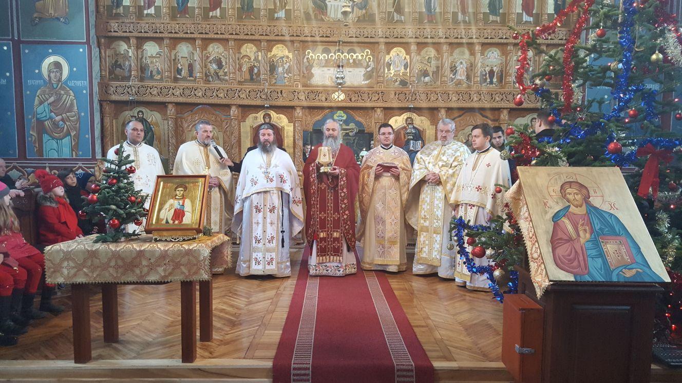 """Hramul Bisericii """"Sfântul arhidiacon Ștefan""""de la  Maieru"""