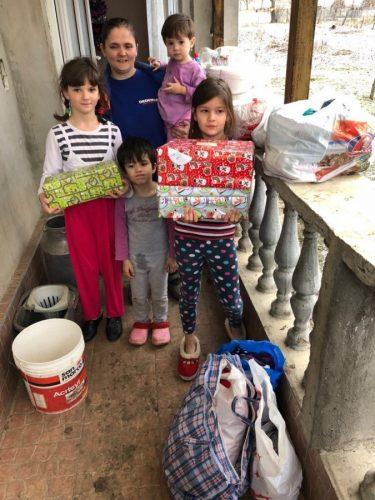 Daruri pentru copiii de la Preventoriul Ilișua, în prag de Anul Nou