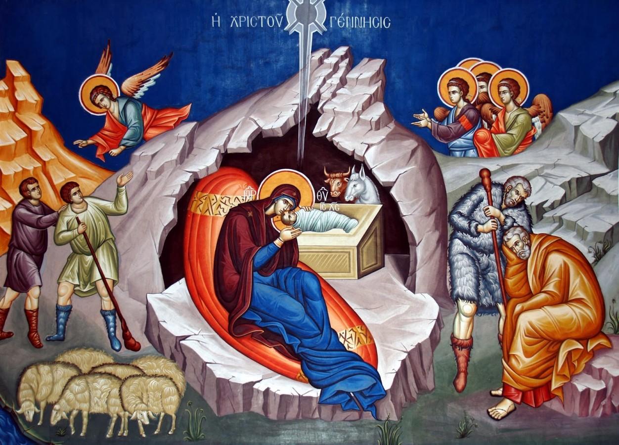 <span style='color:#B00000  ;font-size:14px;'>Catehism. ABC-ul credinţei (Pr. Cătălin Pălimaru)</span> <br> Semnificaţia Naşterii Domnului</p>