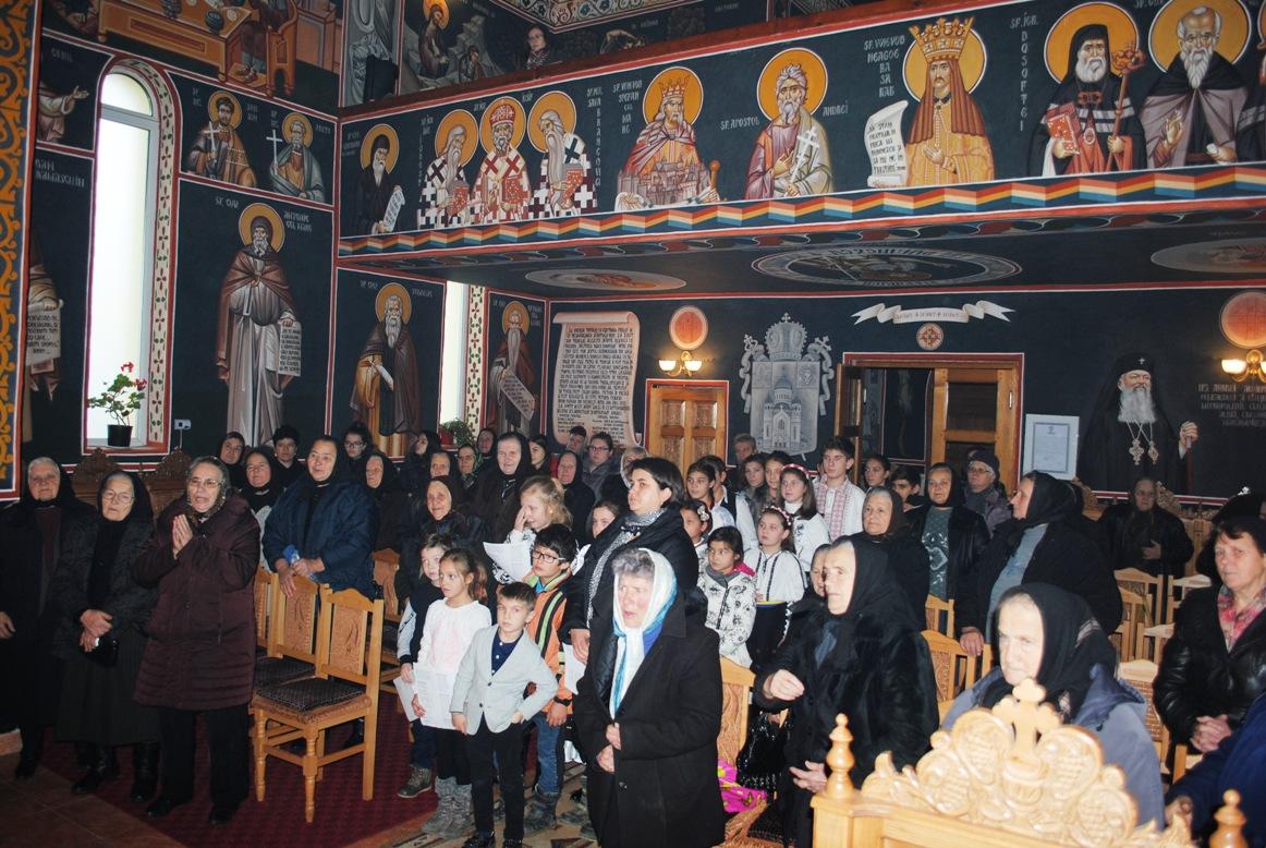 Te-Deum de Ziua Națională a României,  în biserica nouă a parohiei Iacobeni