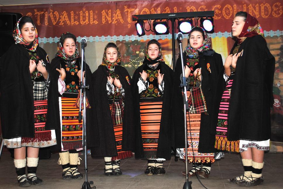 Festival de colinde tradiționale, la Ceanu Mare