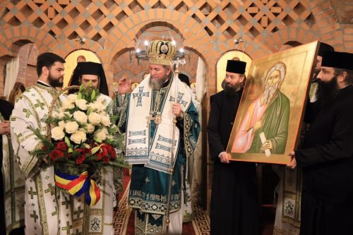 Preasfinţitul Părinte Iustin, prezent la hramul Mănăstirii Scărişoara Nouă
