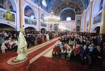 Liturghie arhierească, în Catedrala istorică din Baia Mare, în ultima zi a anului 2017