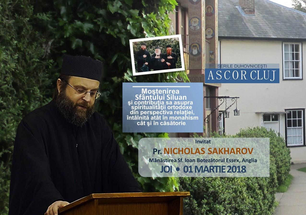 Seară duhovnicească A.S.C.O.R. Cluj – Pr. Nicholas Saharov