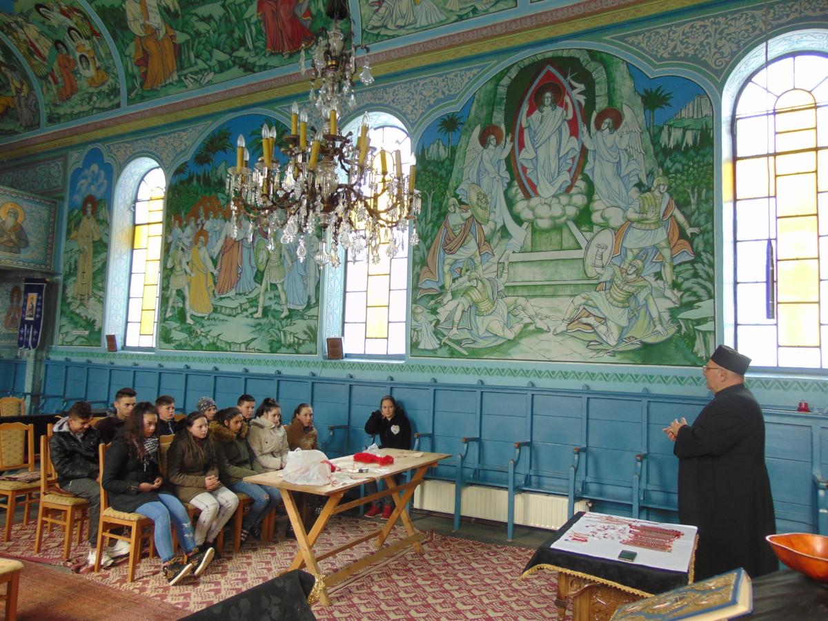 Virtuțiile creștine, prezentate elevilor din Mociu