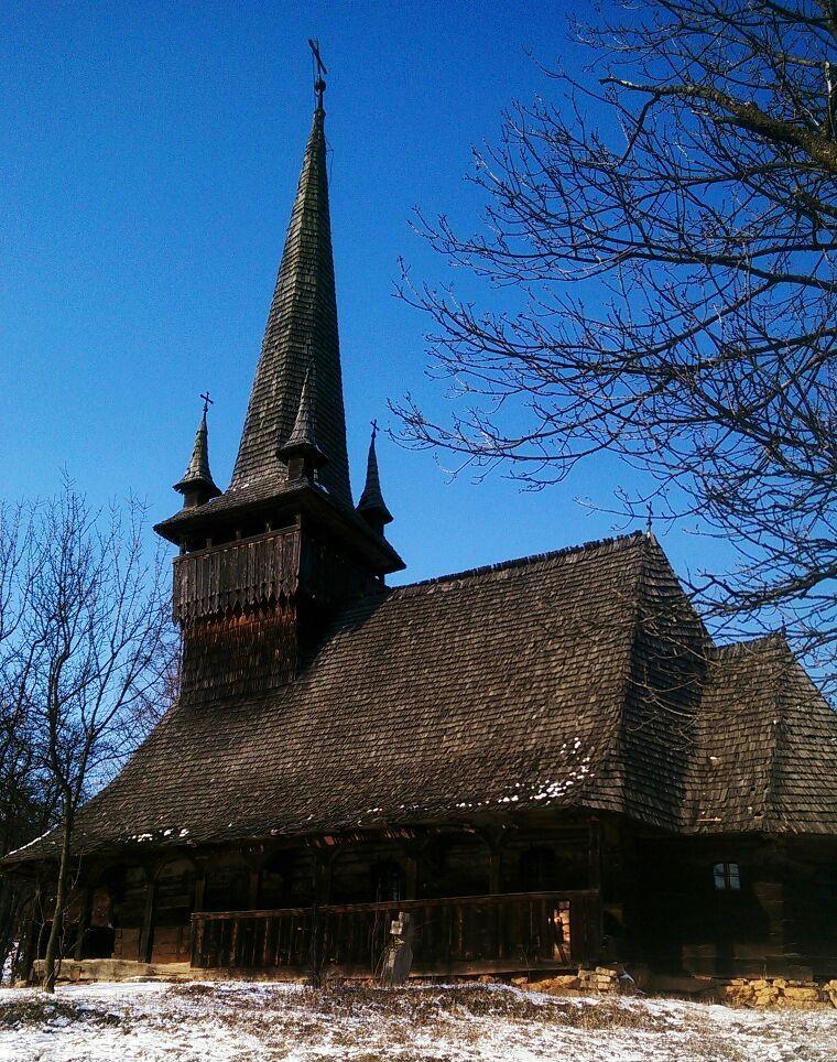 Biserica de lemn din satul clujean Agârbiciu, monument istoric din secolul al XVII-lea