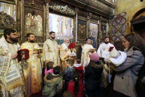 Sărbătoarea Bunei Vestiri, hramul Mitropoliei Clujului