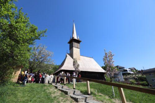 Biserica din Muzeul Satului din Baia Mare, resfințită de Preasfinţitul Părinte Iustin