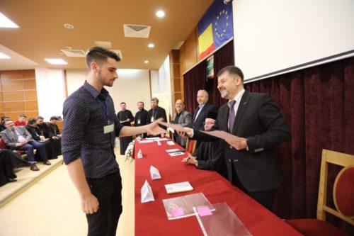 Festivitatea de premiere de la Olimpiada Naţională de Religie, la Baia Mare