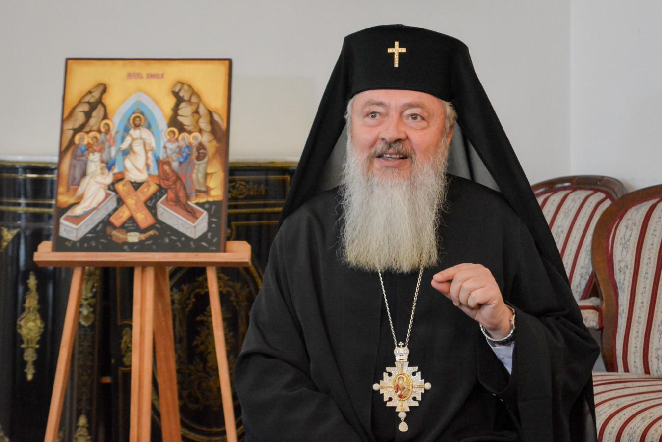 Înaltpreasfințitul Părinte Arhiepiscop și Mitropolit Andrei – Fișă biografică