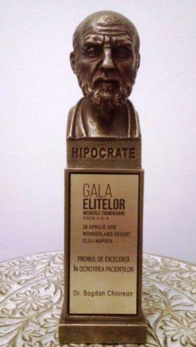 Dr. Bogdan Chiorean, de la Centrul Sf. Nectarie, premiat la Gala Elitelor Medicale Transilvane