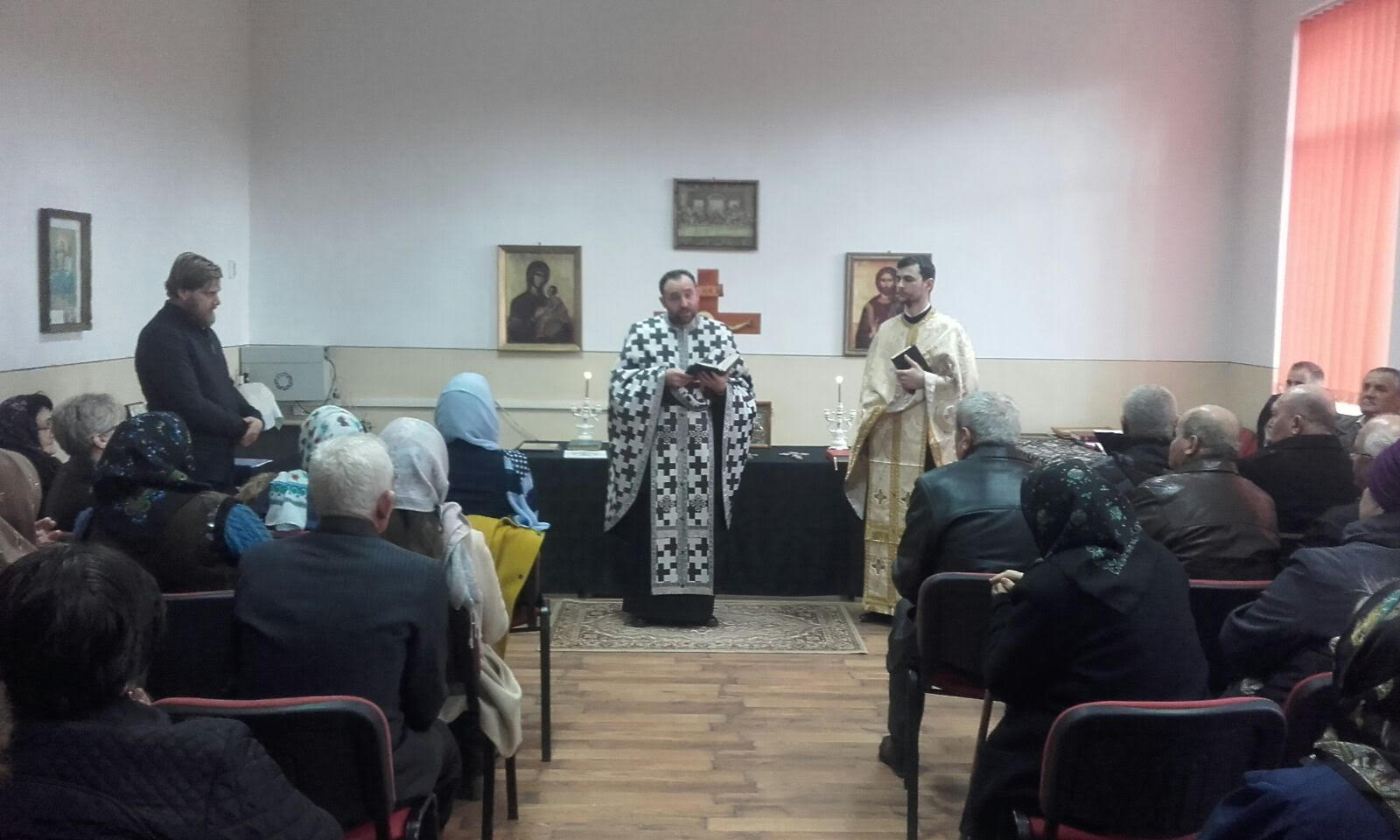 Instalarea noului preot paroh, în parohia Făureni