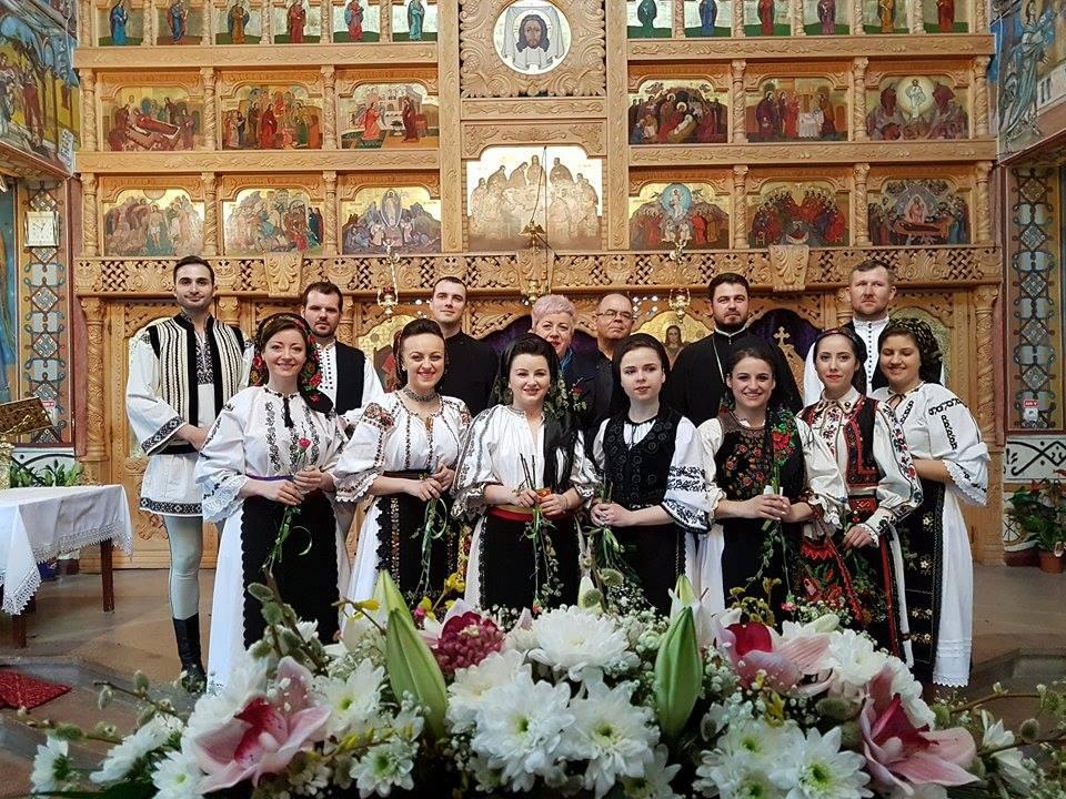 Recital de pricesne înDuminica Floriilor, pentru credincioșii din Dâmbul Rotund