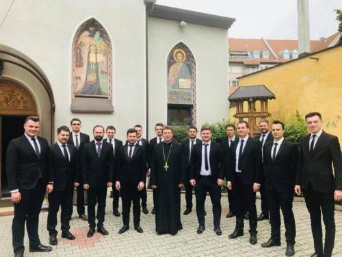 """Corul de cameră """"Psalmodia Transylvanica"""", la Nürnberg de sărbătoarea Înălțării Domnului"""