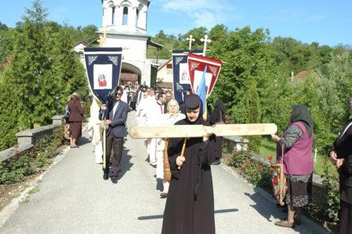 Mitropolitul Clujului, la hramul mănăstirii bistrițene Dobric