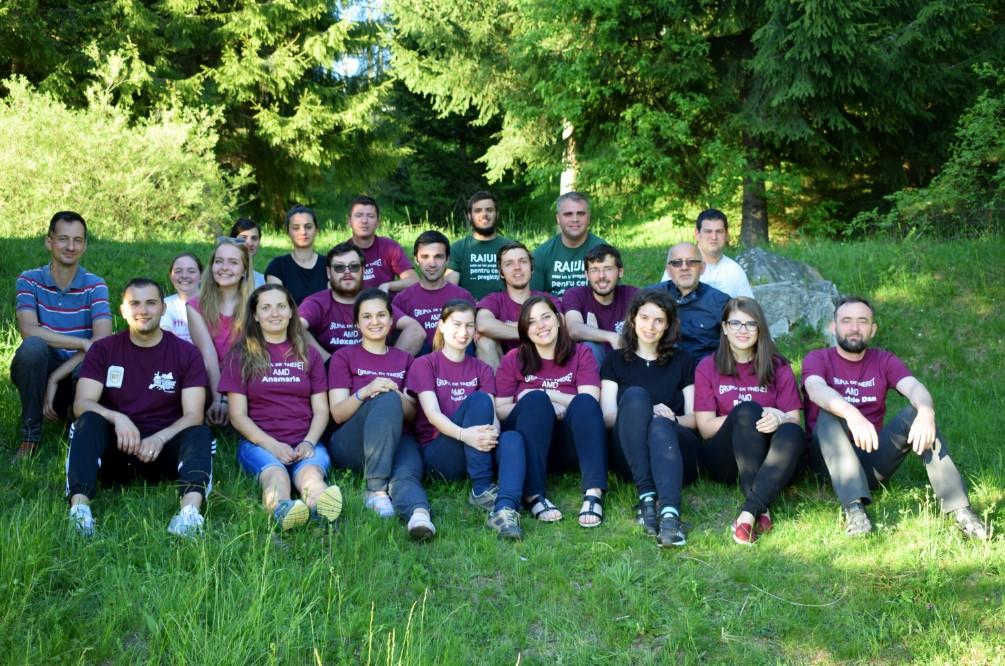 Tabăra anuală a Grupului Parohial de Tineret AMD