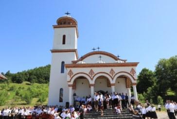 Târnosirea bisericii din Valea Muntelui, Bârsana