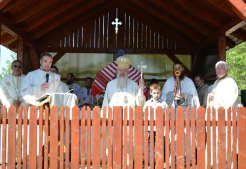 """Icoana Maicii Domnului cu Pruncul """"Maica milelor"""", dusă spre închinare credincioșilor din Ilișua"""