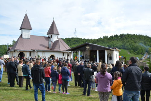 """IPS Andrei, la hramul Mănăstirii """"Înălțarea Domnului"""" de la Muntele Rece"""