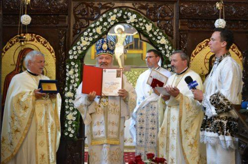 Biserica parohiei bistrițene Domnești, resfințită de Mitropolitul Clujului