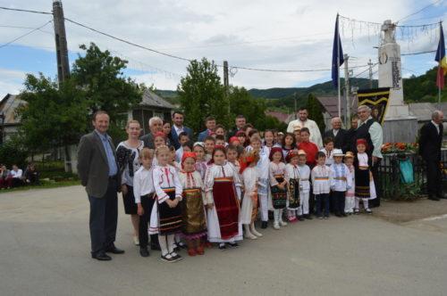Înălțarea Domnului, în parohia bistrițeană Dumbrăveni