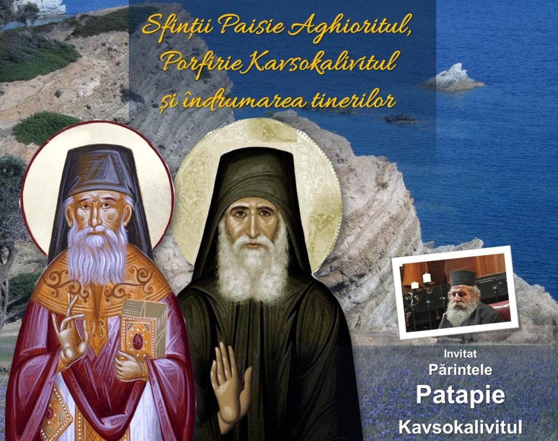 """Conferința """"Sfinții Paisie Aghioritul și Porfirie Kavsokalivitul și îndrumarea tinerilor"""""""