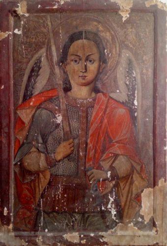 Icoana Sfântul Arhanghel Mihail, atribuită preotului Luca din Iclod