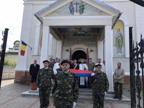 Ziua Drapelului Național, sărbătorită și la Dej