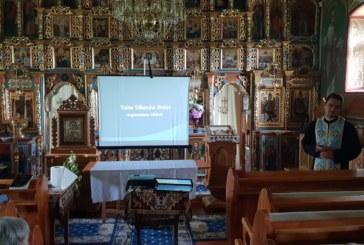 Întâlnire catehetică în localitatea Ciecu Giurgesti