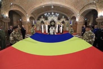 Episcopul Maramureșului și Sătmarului a binecuvântat Drapelul Național