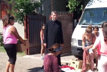Ziua Copilului, sărbătorită  în parohia bistrițeană Domneşti