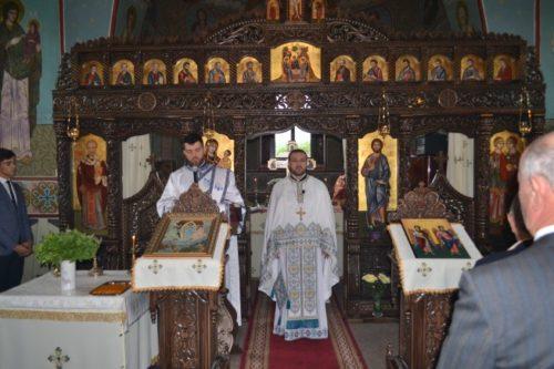 Instalarea Preotului Mihai Bodnariuc, ca paroh al Parohiei Codor