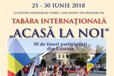 """Tabăra internațională """"ACASĂ LA NOI""""  la Centrul Misionar de Tineret """"Ioan Bunea"""""""