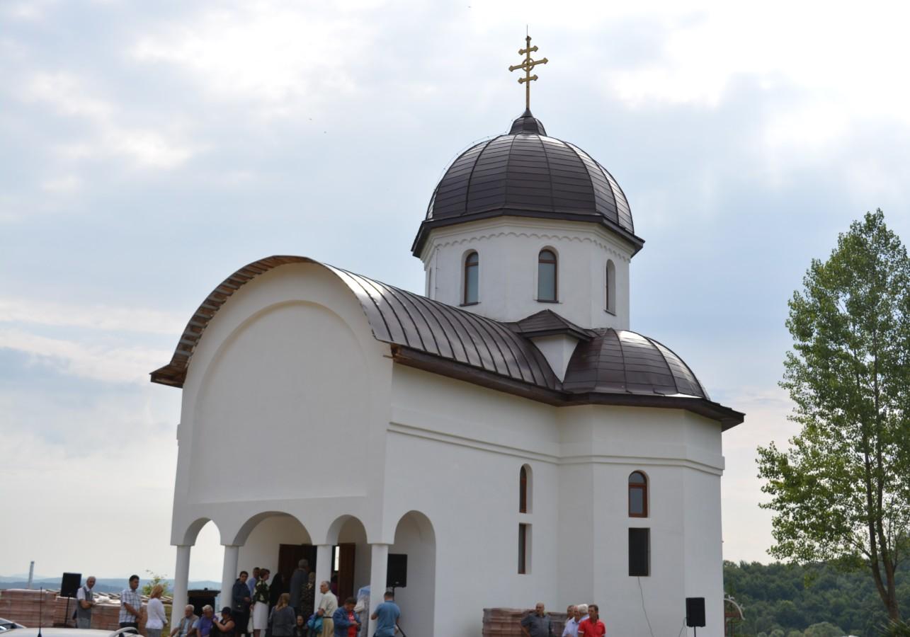Hram la Mănăstirea Pantocrator, Beclean, Bistrița-Năsăud