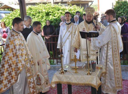 Resfințirea bisericii din Parohia Gălpâia