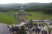 """Mii de credincioși la hramul Mănăstirii """"Sf Prooroc Ilie"""" de la Nușeni"""