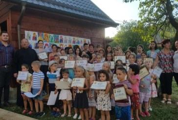 Școală de vară, la Parohia Mociu I