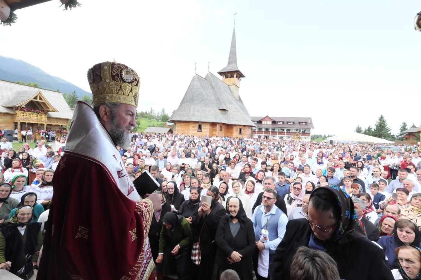 Târnosirea  bisericii Mănăstirii Pietroasa Borşa, Maramureș
