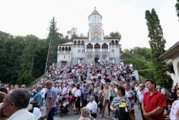 Vecerniei unită cu Litia la Mănăstirea Rohia