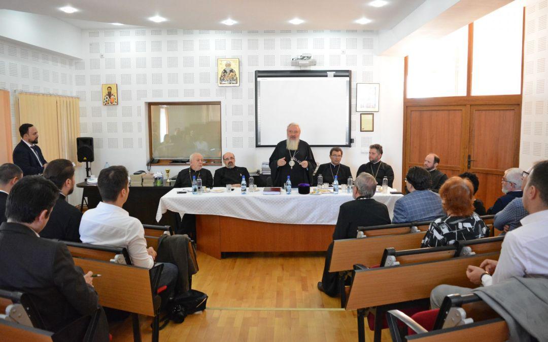 """IPS Andrei, prezent la susținerea publică a tezei de doctorat """"Principiile prozelitismului sectar și misiunea Bisericii"""