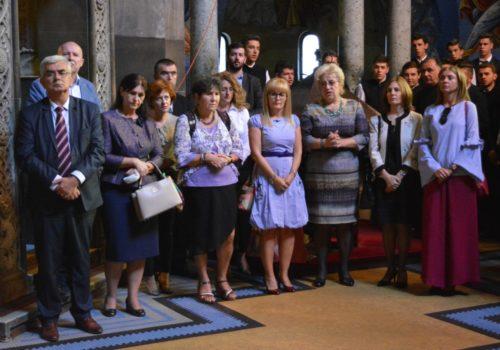 La Cluj-Napoca, școala a început în biserică. Elevii, părinții si profesorii s-au rugat alături de IPS Andrei