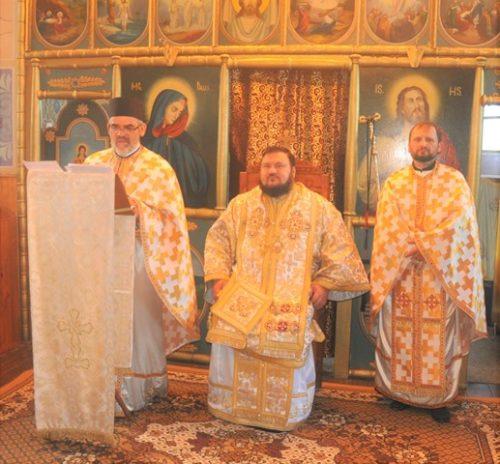 Liturghie Arhierească în Parohia sălăjeană Biușa