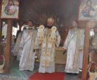 Liturghie Arhierească în Parohia Fântânele-Rus, județul Sălaj