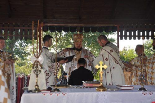 Liturghie arhierească în parohia sălăjeană Ip