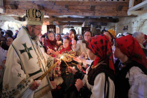 A fost târnosită prima biserică de lemn din Oaş, construită după 170 de ani