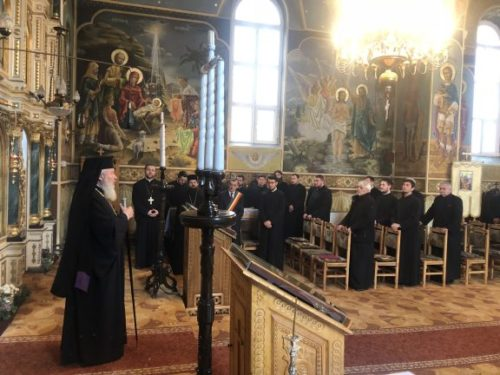 Părintele Mitropolit Andrei în Protopopiatul Dej